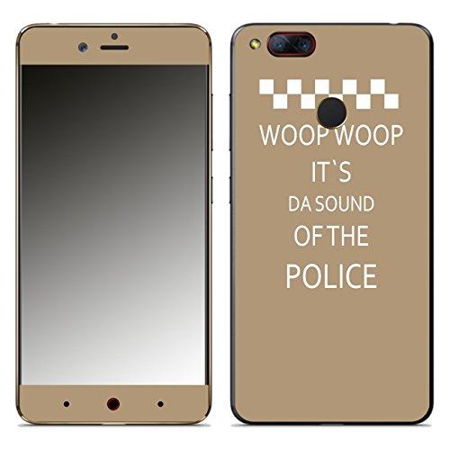 Disagu SF-108194_598 Design Folie für Nubia Z17 Mini - Motiv WOOP WOOP IT´S DA So& of The Police