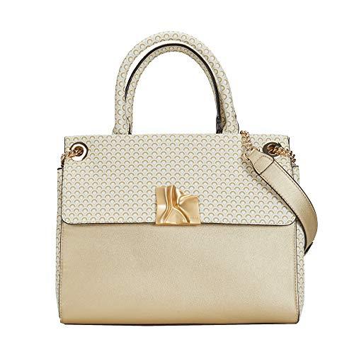 Parfois - Shopper Mit Bedruckter Abdeckung Online Exclusive - Damen - Größe M - Golden