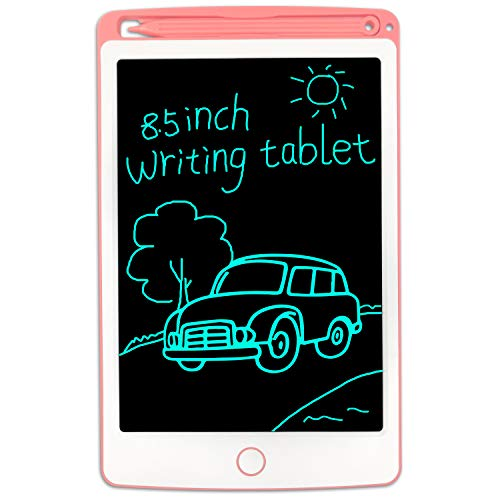 Gkcity LCD Writing Tablet,Drawing Tablet 8.5 Inch,Portable Doodle Board Gifts,Erasable Reusable Writer,LCD Writing Tablet for Kids Office Memo Home