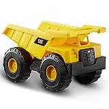 Caterpillar- Dump Truck Vehiculo de construcción, Color Amarillo...