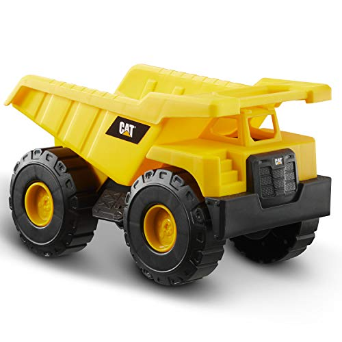 Caterpillar Construction Fleet Dump Truck Vehiculo de construcción, Color Amarillo (Funrise International 82021)