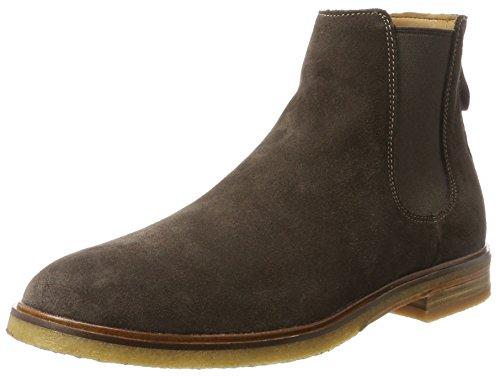 Clarks Clarks Herren Clarkdale Gobi Chelsea Boots, Braun (Dark Brown Suede), 45 EU