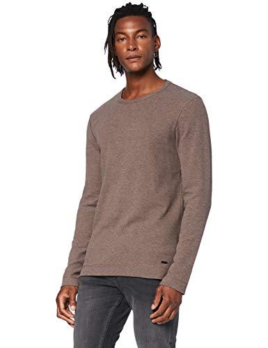 BOSS Herren Tempest Sweatshirts, Khaki, M EU