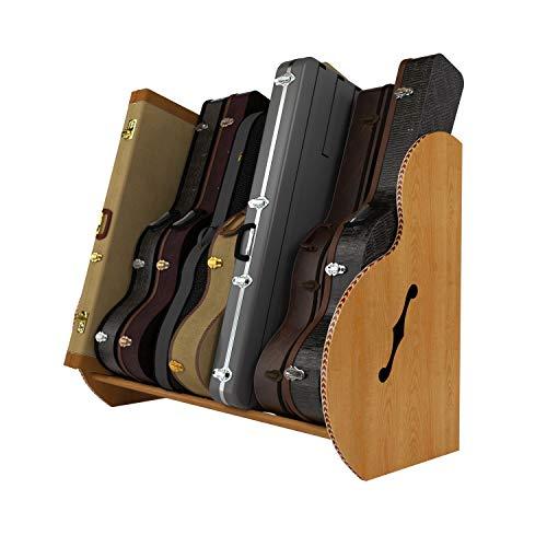The Studio Deluxe Guitar Case Stand | Multiple colors (Studio 8, Red Oak)