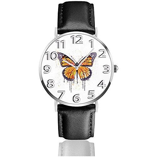 Uhr Armbanduhr Monarch Butterfly Classic Casual Quartz Uhr Uhren für Männer Frauen