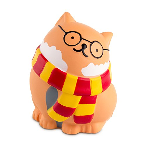 BeYumi Glasses Cat Slow Rising Toy, Sweet Scented Vent Charms Toy Cute Kid Toy Hand Toy, Lovely Stress Relief Toy , Decorative Props