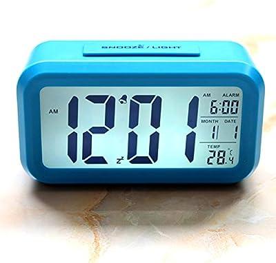 VSONE Reloj Despertador Parlante en Español, Alarma LCD con ...