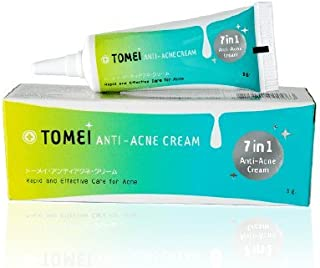 Tomei Anti-acne Cream (7 in 1 Anti-acne Cream), Anti Acne Serum for Men, Women & Teens Offers Cutting Edge Skin Care Product That Helps to Control & Get Rid of Acne, Best Pore Minimizer Treatment