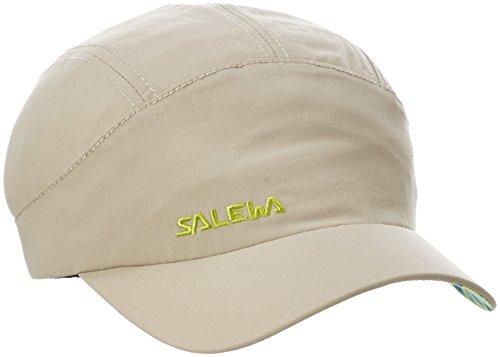 Salewa Sun Protect K Cap Casquette de randonnée Mixte Enfant, Beige, FR : M (Taille Fabricant : M/53)