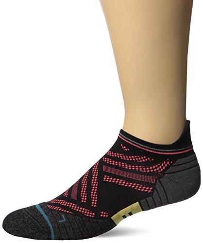 Stance Men's Speed Tab Running Sock, Purple, M
