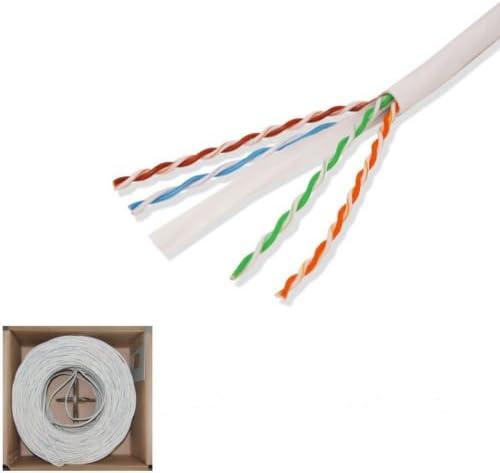 CAT6 1000ft UTP Max 52% OFF Solid CCA Bulk Ethernet 550Mhz Over item handling ☆ Cable
