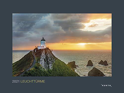 Leuchttürme - Kalender 2021 - Kunth-Verlag - Wandkalender mit faszinierenden Aufnahmen - Aufregende Küstenlandschaften - 60 cm x 45 cm