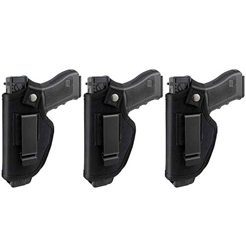 3 Pack Universal IWB OWB Gun Holster for Concealed Carry...