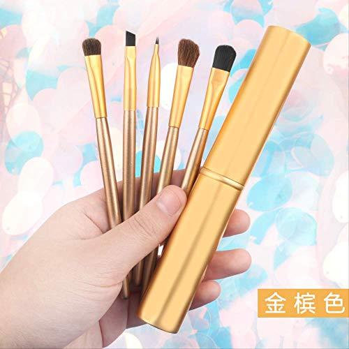 Set brosse à fards à paupières set maquillage complet des outils de maquillage baril brosse à sourcils pinceau nez ombre pinceau pinceau B