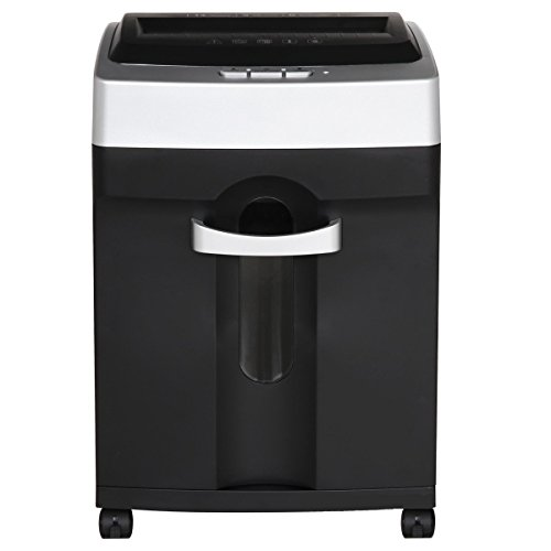 Review 9920 Mute Shredder Electric Office Home Small A4 Strips Granular Appearance With Open Letter ...