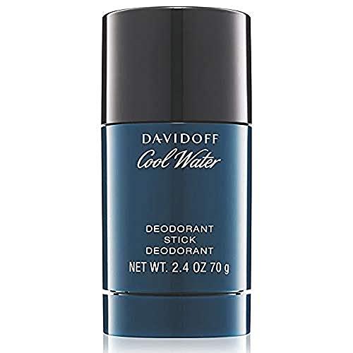 DAVIDOFF Cool Water Man Deodorant Stick, Deostift, aromatisch-frischer Herrenduft, 75 ml
