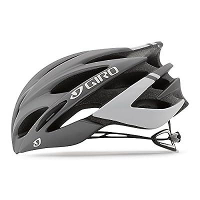 Giro Savant Road Bike Helmet, Matte Titanium/White, Large
