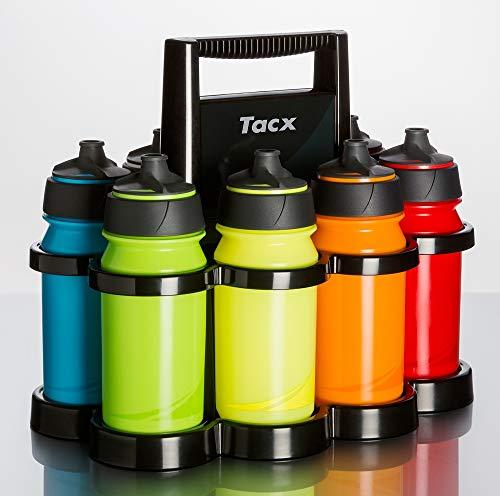 Tacx Shanti Twist Collection 500 cc (8 Stück) mit Starlight (besonderen Reihenfolge), und Flaschenhalter, farblich Sortiert