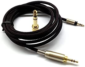 NewFantasia Replacement Audio Upgrade Cable Compatible with Sennheiser Momentum, Momentum 2.0, HD1 Over-Ear On-Ear Headphones 1.8meters/5.9feet