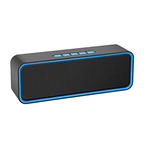 Kolaura Portable Wireless Speaker, Bluetooth 5.0 Speaker with 3D Stereo...