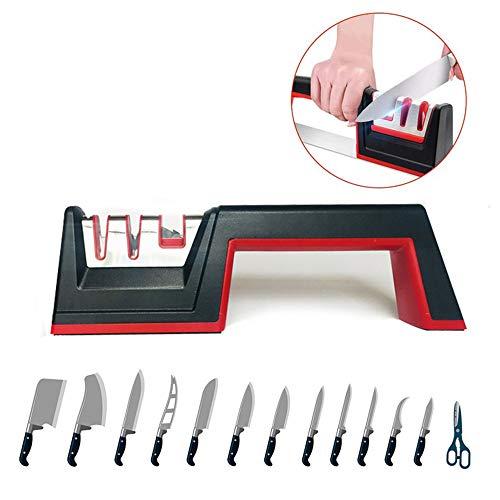 Handmatige snelslijper, multifunctioneel, slijpsteen voor thuis, keukenmessen, slijpmachine, keukenschaar, messen, messenslijper, 2,55 inch