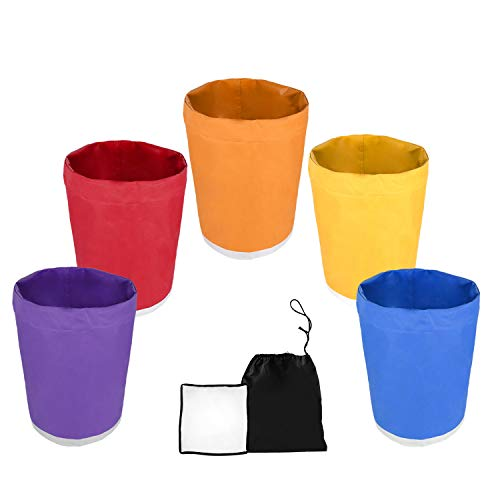 VIVOSUN 5-Gallon 5-Bag Herbal Ice Bubble Hash Bag Essense Extractor Kit Filtration Bags/Set