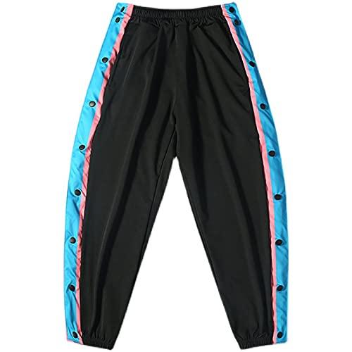 NIUPUPU Hombre Pantalones de Baloncesto NBA Pantalones de chándal de Pecho Completo Pantalones de Entrenamiento de Calentamiento Pies Holgados Pantalones Cortos para Correr Fitness Pantalones Cortos