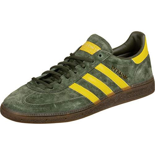 Adidas EF5748, Zapatilla de Balonmano Hombre, Verde/Amarillo, 45 EU