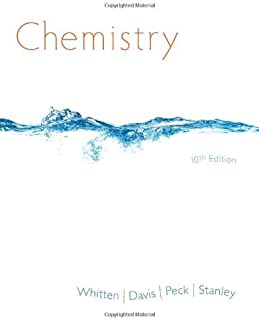 Chemistry (Not Textbook, Access Code Only) By Kenneth W. Whitten, Raymond E. Davis, Larry Peck and George G. Stanley 10th Edition