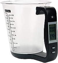 أدوات إلكترونية موازين مطبخ لقياس وزن المضيف كوب قياس درجة الحرارة