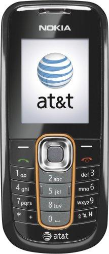 Nokia 2600 Phone, Black (AT&T)