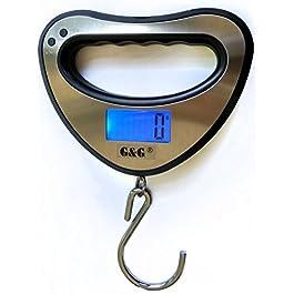 GundG OCS-XY Balance suspendue de pêche 44 kg/10 g