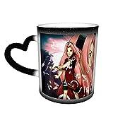 Naruto Haruno Sakura Magia Divertente Arte Tazze Caffè Tazza di Ceramica Immagine Rivelata Quando Liquido Caldo è Aggiunto-Haruno Sakura2