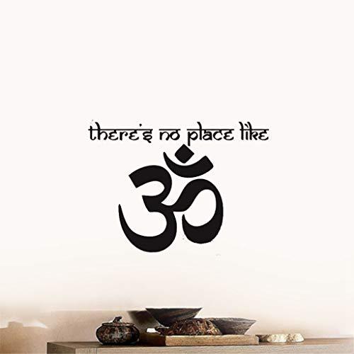 pegatinas de mandala Om Shanti Om Símbolo Hinduismo Yogs Namaste Calcomanías India Paz Pegatinas Aum Namah Shivaya