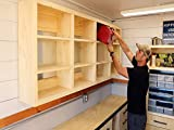 Shop Shelving Using French Cleats