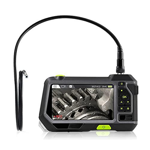 WXFN 5 Zoll Endoskopkamera, IP67 Wasserdicht Inspektionskamera, 5.5mm Durchmesser Sonde Digitale Industrie Endoskop, 3500Mah Batterie 32G Speicher,1M