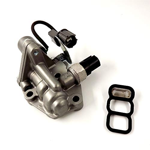labwork 15810PAAA02 Solenoid Spool Valve Assembly with Gasket VTEC Replaces for 1998-2002 Honda Accord