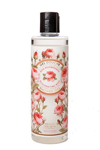 Panier des Sens 000 66 Duschgel mit ätherischem Rosenöl, 250 ml