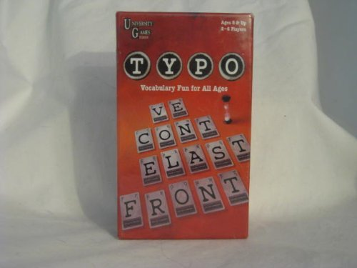 Typo (Small Box) by University Games