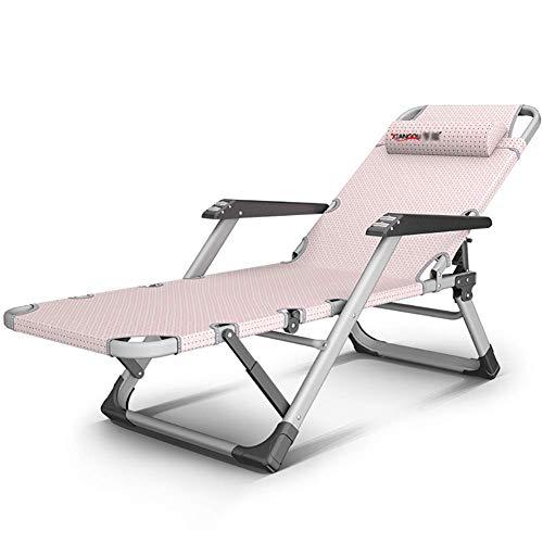 Schwer * verstellbar * Patio * klappbar * Schwerkraft * Stuhl * Outdoor * Yard * W/Roller * Armlehne * 440lbs *: Pink