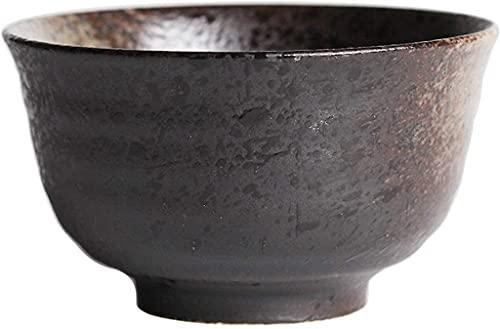 Juego de Platos, Bowl Bowls Snack Dip Dishware Dishware 4.5 Inch Negro Cuenco de cerámica Ensalada Ensalada Sopa Tazón grande Cuenco Ramen Tazón Cereal Cuenca Cuenco mezclando Tazón 1 Paquete para la