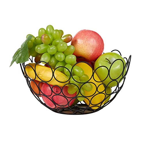 `Star Empty Fruteros de Cocina Modernos de Mesa Creativa Hueco Fruit Basket Sala Hierro Cesta del Almacenaje Bandeja Bocado Caramelo Cesta De Cocina Cestas del Almacenaje Vegetales Simples