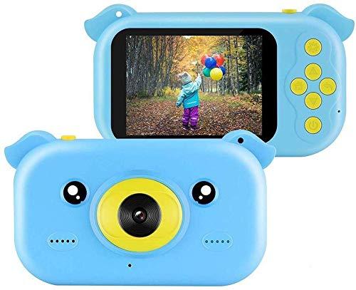 AZHom Cámara niños, la cámara Niño, Niños Cámaras Digitales con 2,4 pulgadas de pantalla 32G tarjeta de memoria del lector de tarjetas de la correa, regalo del juguete Festival de cumpleaños de Navida