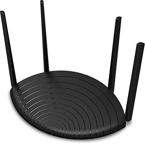FASBHI draadloze router, bredere dekking, gemakkelijk te configureren 1000Mbps poort 1200 Dual-Band draadloze router Thuis Wifi