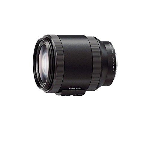 Sony SEL-P18200 Powerzoom-lens (18-200 mm, F3.5-6.3, OSS, APS-C, geschikt voor A6000, A5100, A5000 en Nex series, E-Mount) zwart