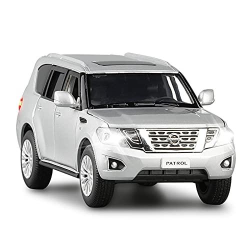 Boutique 1/32 para Nissan Patrol Modelo De Coche De Juguete Diecast Aleación Simulación Metal Todoterreno Vehículo Extraíble Regalo para Niños (Color : 2)