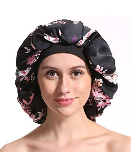 R1vceixowwi Frauen Extra Gro/ße Satin Long Sleep Cap F/ür Dreadlocks Lockenhaar Bonnet Headwrap,mehrere Farben,66 X 30 Cm