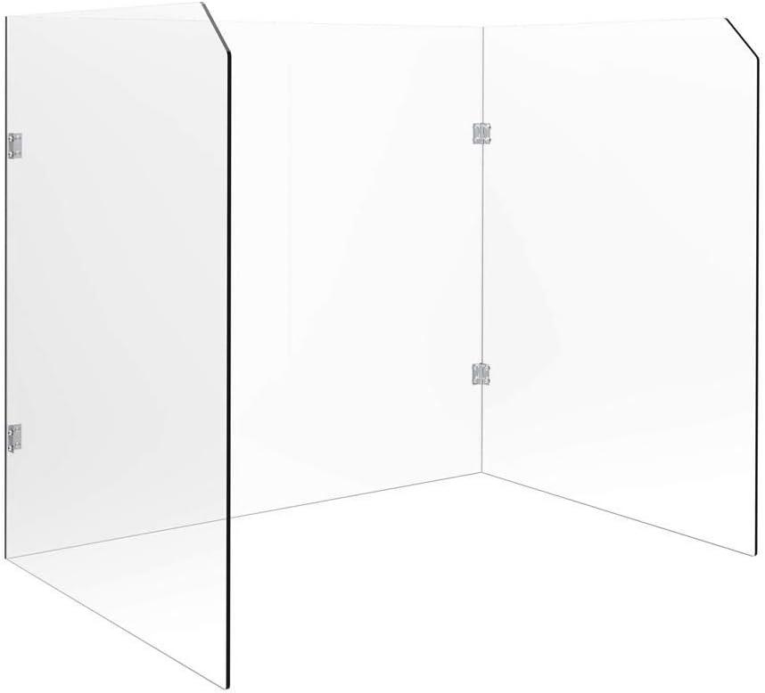 Max 88% OFF Low price Monoprice 142024 Desk Barrier Transparent