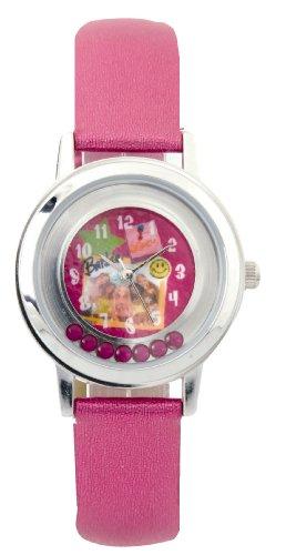 Barbie B593 - Reloj analógico de Cuarzo para niña con Correa de...