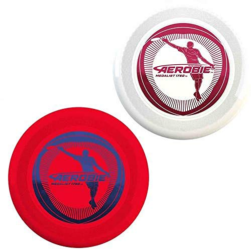 Aerobie Medalist 175 Gram Ultimate Disc  Spin Master 1063quot Diam Graphics May Vary Red